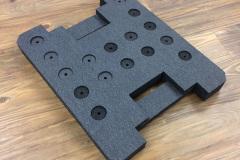 Custom grey foam insert for packaging