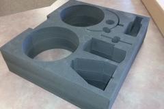 Custom foam insert for small parts