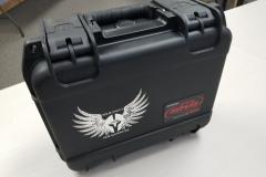 Hard-sided plastic SKB case