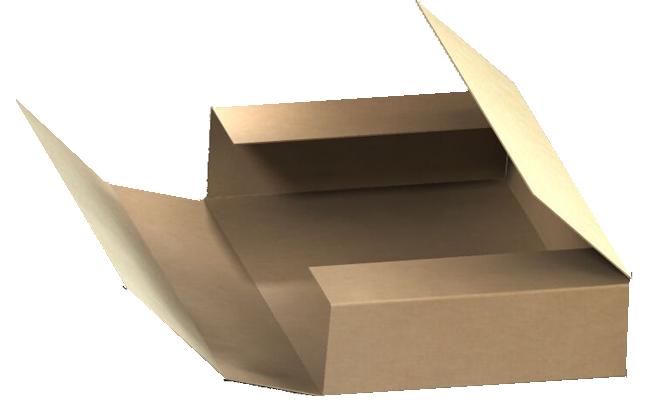 Custom cardboard box