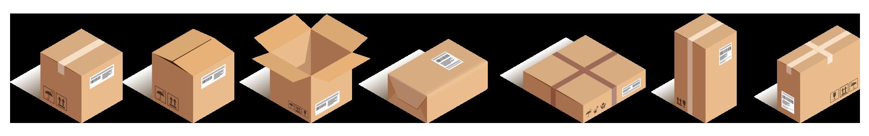 blank box assortment